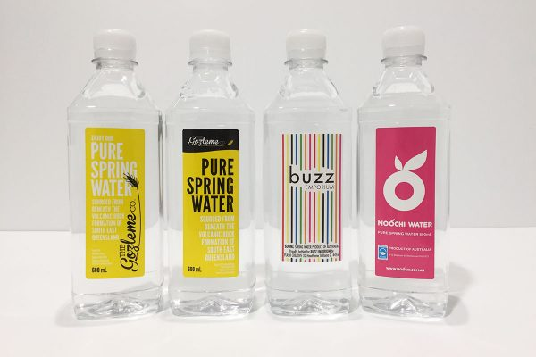 promote your business with spring water products