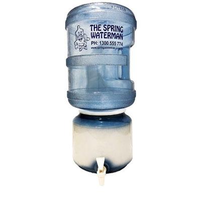 Room temperature Ceramic Croc spring water man