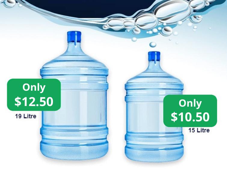 Spring Waterman bottles